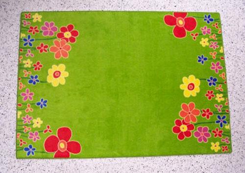 Kinderteppich Blumenwiese